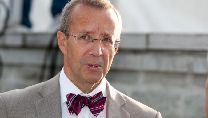 Tomass Hendriks Ilvess, Igaunijas prezidents