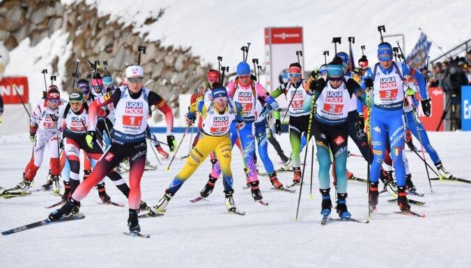Latvija jauktajā stafetē pasaules čempionātā biatlonā ieņem 21.vietu