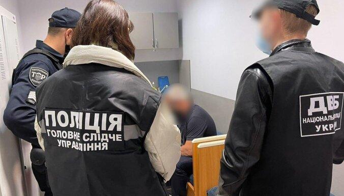ФОТО. Под Киевом задержан соучастник похищения из банковских ячеек в Риге 2 млн. евро