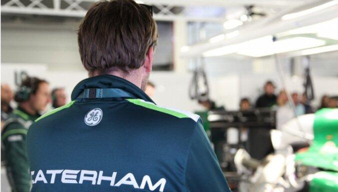 'Caterham' F-1 komandas darbinieki pievienojušies 'Williams' un 'Lotus' vienībām
