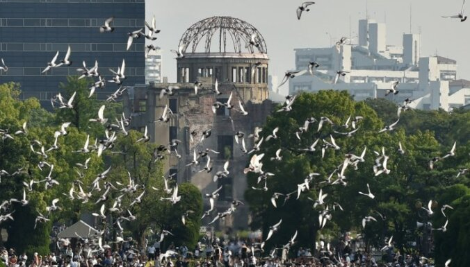 ФОТО, ВИДЕО: 70 лет назад американцы сбросили атомную бомбу на Хиросиму