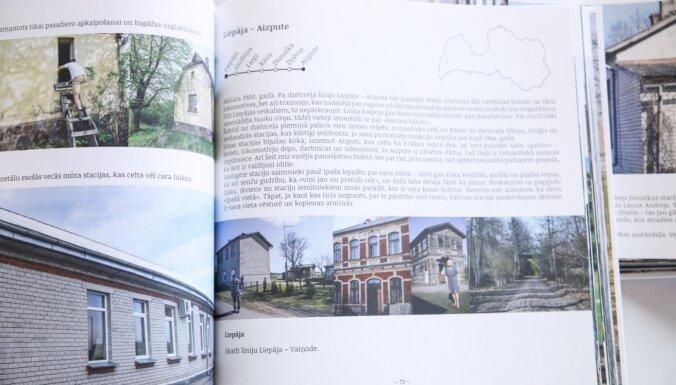 Centrālajā dzelzceļa stacijā prezentē grāmatu par bijušajām dzelzceļa stacijām Latvijā un to mūsdienu dzīvi