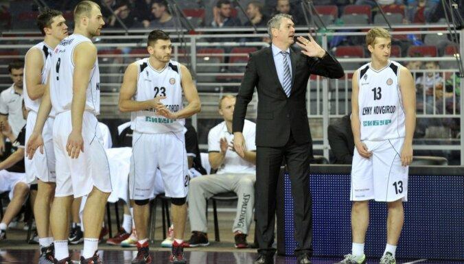 Рижская команда провалила сложный экзамен латвийскому тренеру