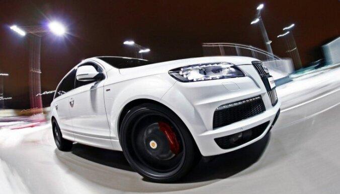 Портал: охрана Аболтини и Страуюмы будет ездить на эксклюзивных Audi Q7