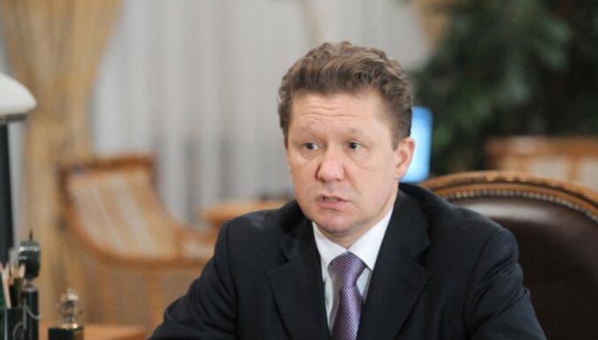 Миллер: России не нужны посредники в транзите газа