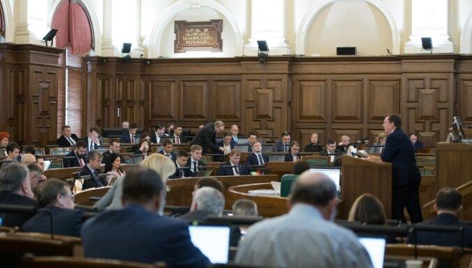 Novadu reforma Saeimā: lemj nākamgad Latvijā ieviest jaunu pārvaldības līmeni