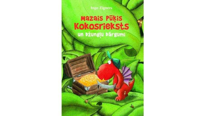 Iznākusi jau trīspadsmitā grāmata bērniem par mazo pūķi Kokosriekstu