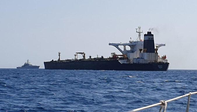 Иран требует от Великобритании освободить танкер в Гибралтаре