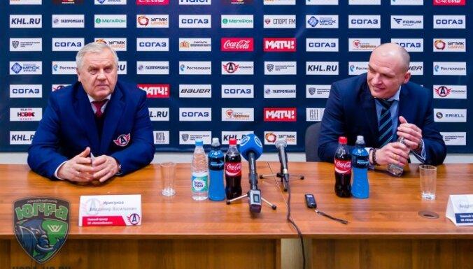 Krikunov, Razin, KHL coach