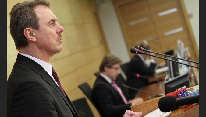 Kristovskis atteicies no algas RD; pārtiek no ES pabalsta