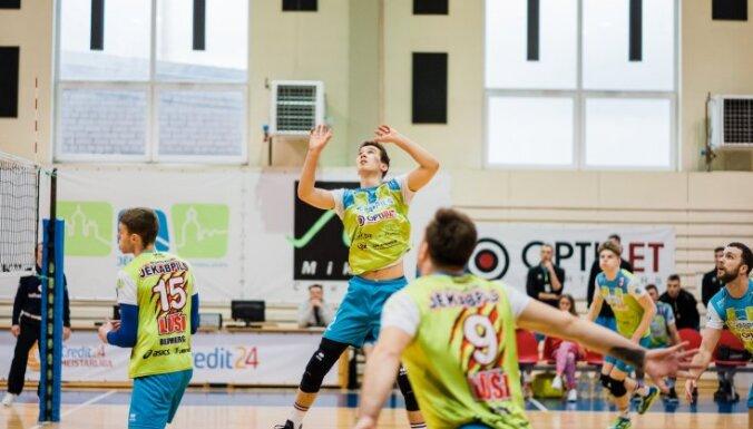 'Jēkabpils Lūši' vienas uzvaras attālumā no Latvijas čempionāta fināla