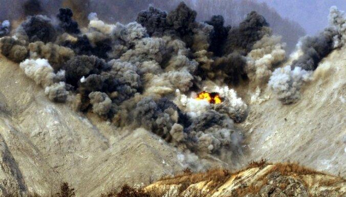 Ziemeļkoreja veic raķetes izmēģinājumu