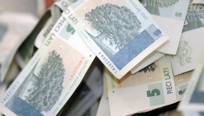 Latvijas Banka lielāko daļu no neapmainītajiem latiem izslēdz no bilances