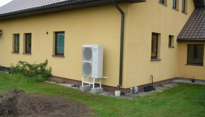 Panasonic gaiss-ūdens siltumsūkņu praktiskā ekspluatācija 2011./2012. ziemas sezonā