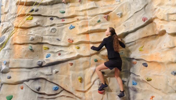 kāpšana klintīs sports treniņš mērķis