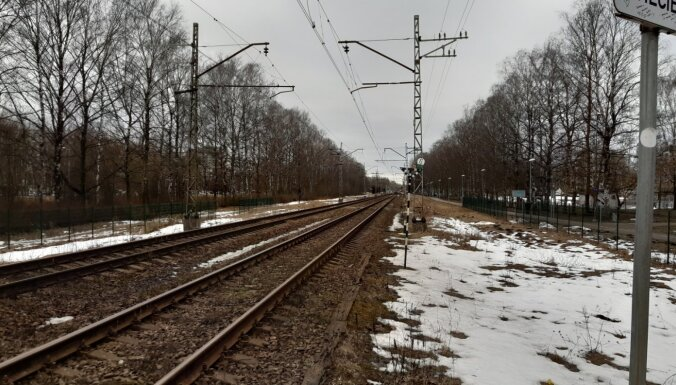 Vilcienu satiksme Rīgas centrālajā dzelzceļa stacijā atjaunota (plkst. 21:47)