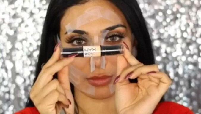 Video: Kā pāris sekundēs pārtapt par Kimu Kardašjanu
