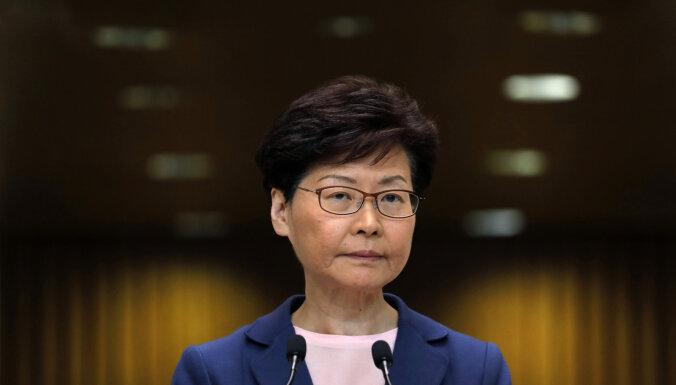 """Глава администрации Гонконга заявила о """"кончине"""" закона об экстрадиции"""