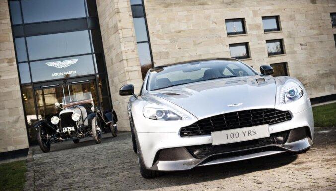 'Aston Martin' un 'Mercedes-AMG' oficiāli paziņo par sadarbību