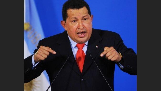 Чавес попросил сограждан не петь в душе