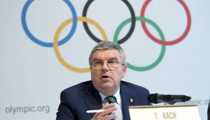 International Olympic Committee, IOC, President Thomas Bach
