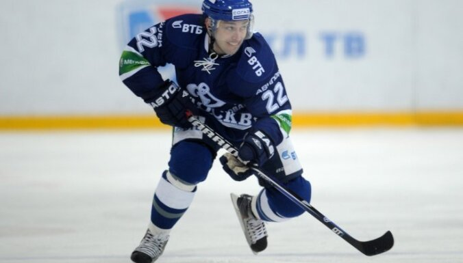 Maskavas 'Dinamo' uz Rīgu dosies bez Aņisina, Rilova un vairākiem hokejistiem