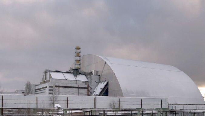 ВИДЕО: Чернобыльская АЭС накрыта гигантским саркофагом за 1,6 млрд евро