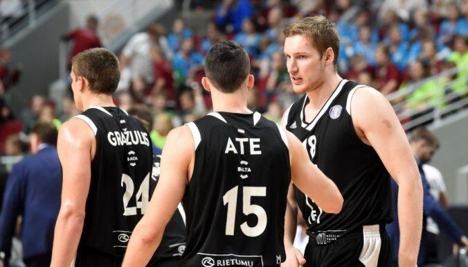 'VEF Rīga' gūst astoto uzvaru 'OlyBet' basketbola līgā