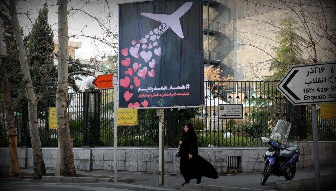 Lidmašīnas notriecēji ir arestēti, paziņo Irāna