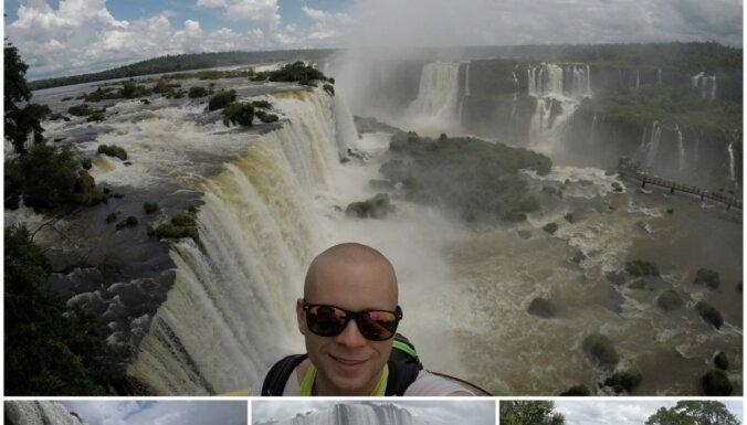 Latviešu ceļotāja pieredze, apmeklējot lielāko ūdenskritumu sistēmu pasaulē