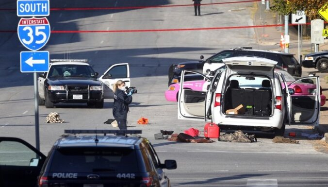 Teksasā nošauts vīrietis, kas apšaudījis Meksikas konsulātu un policijas iecirkni