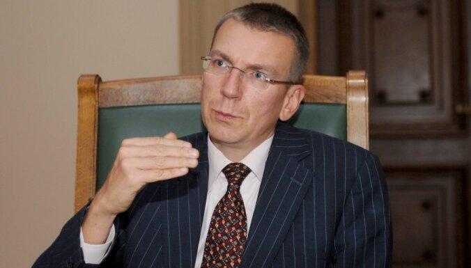 Rinkēvičs aicina domāt par ES ārpolitikas nostiprināšanu pēc eirozonas krīzes pārvarēšanas