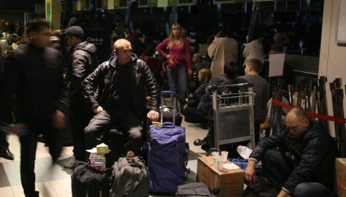 В московских аэропортах пассажиры нападают на сотрудников и друг на друга