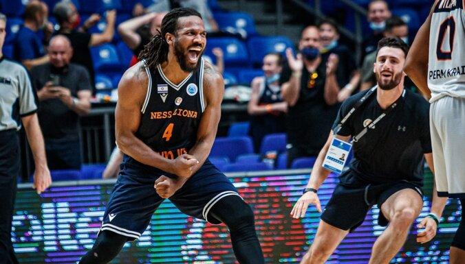 Mejera pārstāvētā 'Parma' pēdējās sekundēs piedzīvo zaudējumu FIBA Eiropas kausa pusfinālā