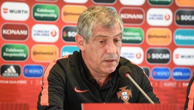 Portugāles treneris: esam ļoti labi sagatavoti mačam ar Latviju