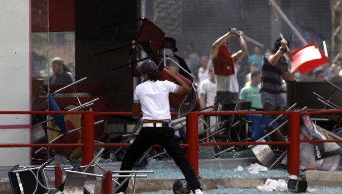 Fotoreportāža: Saniknoto musulmaņu protesti