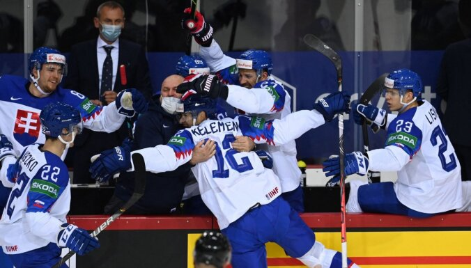 Slovākijas izlasei joprojām tikai uzvaras – pārspēta arī KOK komanda