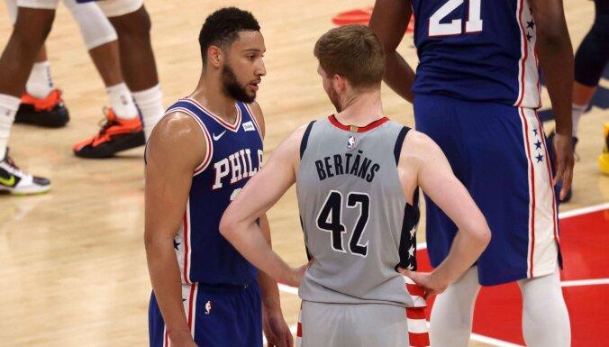 Bertānam savainojuma dēļ NBA sezona, visticamāk, noslēgusies