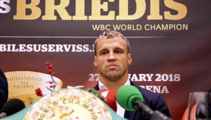 Briedis un Glovackis Rīgā cīnīsies par WBC čempionu jostu
