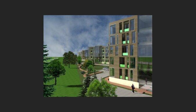 NCC Spilve development, dzīvojama mājas komplekss, Dziciema iela