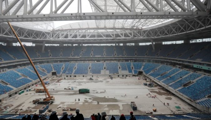 Zenit Arena will host FIFA World Cup