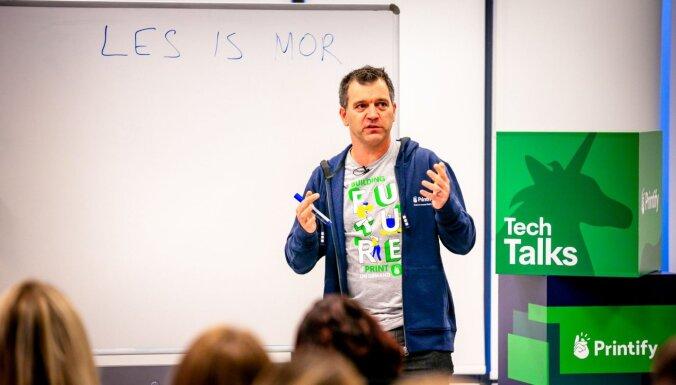 'Uber' bijušā viceprezidenta Daniela Grafa padomi jaunuzņēmumiem