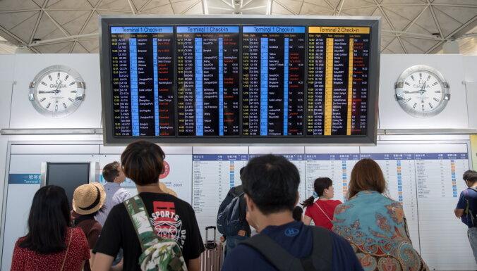 В Гонконге началась массовая забастовка, отменены более 200 авиарейсов