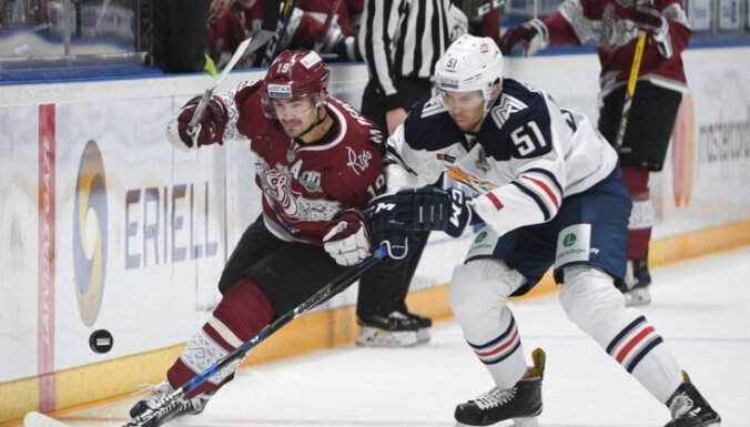 Rīgas 'Dinamo' izbraukuma mačā pieveic spēcīgo 'Metallurg'