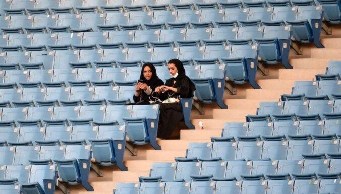 Saūda Arābijā sievietēm ļaus apmeklēt stadionus