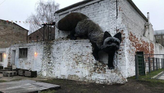 Foto: Maskavas forštatē tapis dzīvnieku brīvībai veltīts vides objekts (precizēts)