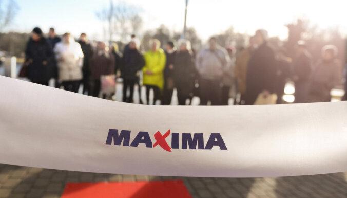 В декабре в Латвии откроется пять новых супермаркетов Maxima X