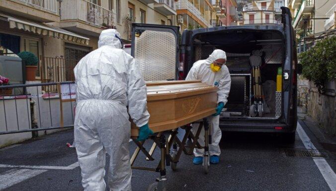В Италии за последние сутки рекордный скачок смертей из-за коронавируса - 627