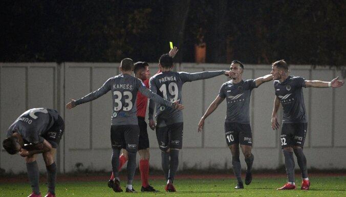 'Liepāja' un RFS pārceltās spēles strīdā iesaistās čempione 'Riga FC'