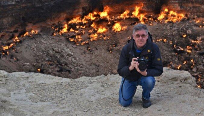 Foto: Elles vārti Turkmenistānā – gāzes krāteris, kas deg jau gandrīz pusi gadsimta